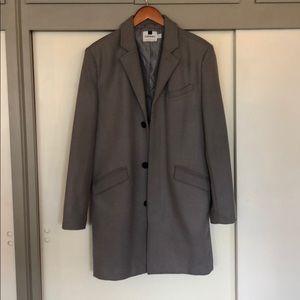 Topman overcoat Light Grey